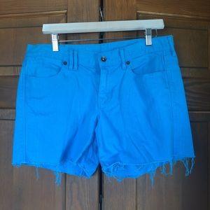 Madewell Cutoff Blue Jean Shorts Sz 29